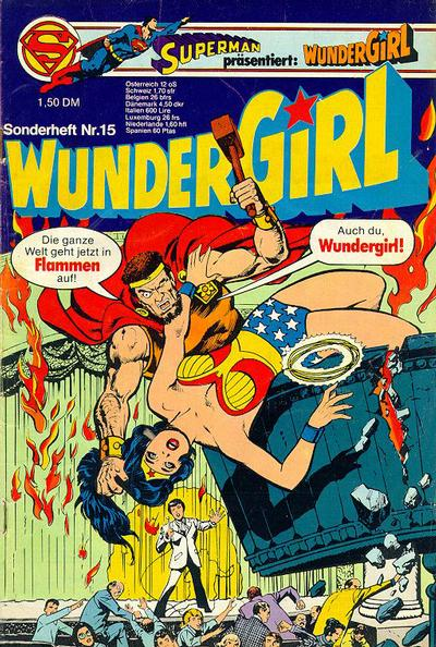 Cover for Wundergirl (Egmont Ehapa, 1976 series) #15