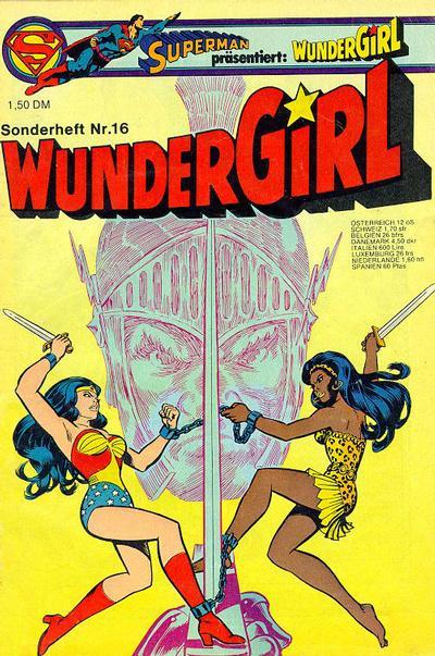Cover for Wundergirl (Egmont Ehapa, 1976 series) #16
