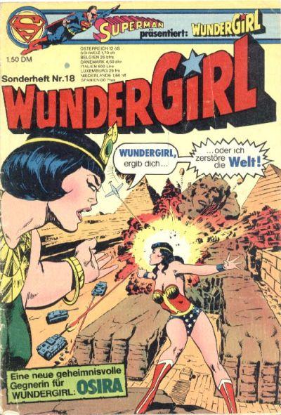 Cover for Wundergirl (Egmont Ehapa, 1976 series) #18