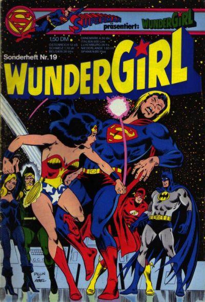 Cover for Wundergirl (Egmont Ehapa, 1976 series) #19