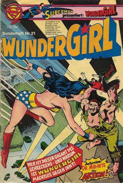 Cover for Wundergirl (Egmont Ehapa, 1976 series) #21