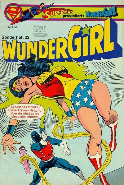 Cover for Wundergirl (Egmont Ehapa, 1976 series) #22