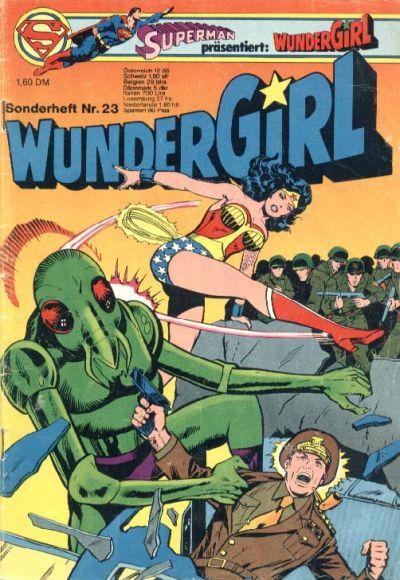 Cover for Wundergirl (Egmont Ehapa, 1976 series) #23