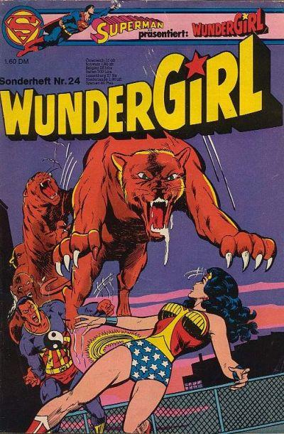 Cover for Wundergirl (Egmont Ehapa, 1976 series) #24