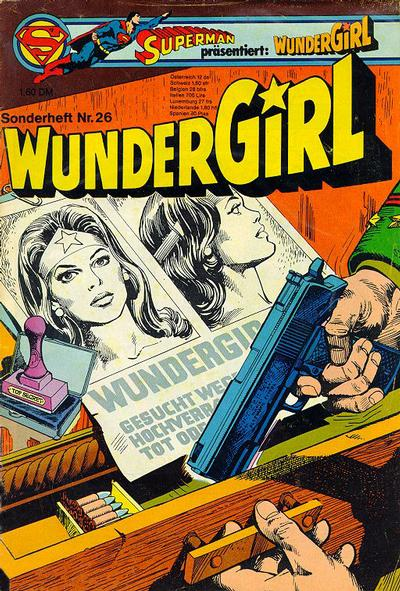 Cover for Wundergirl (Egmont Ehapa, 1976 series) #26
