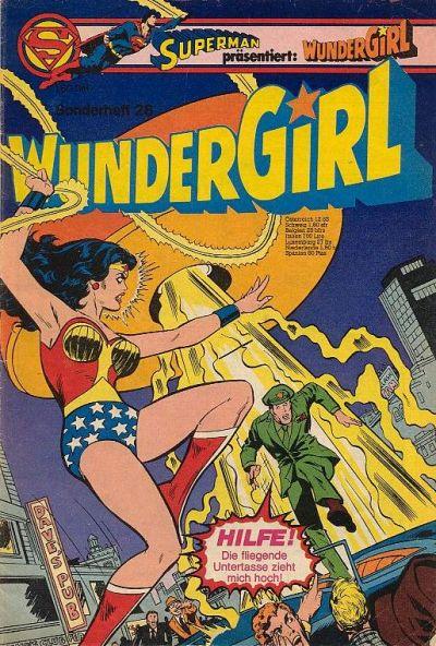 Cover for Wundergirl (Egmont Ehapa, 1976 series) #28