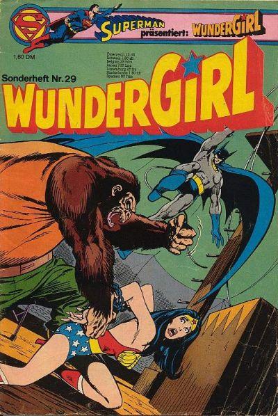 Cover for Wundergirl (Egmont Ehapa, 1976 series) #29