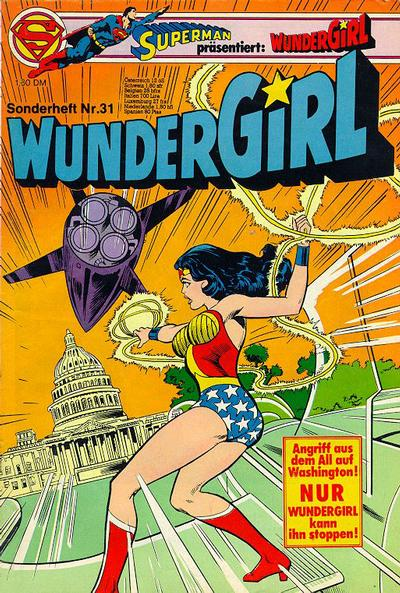 Cover for Wundergirl (Egmont Ehapa, 1976 series) #31