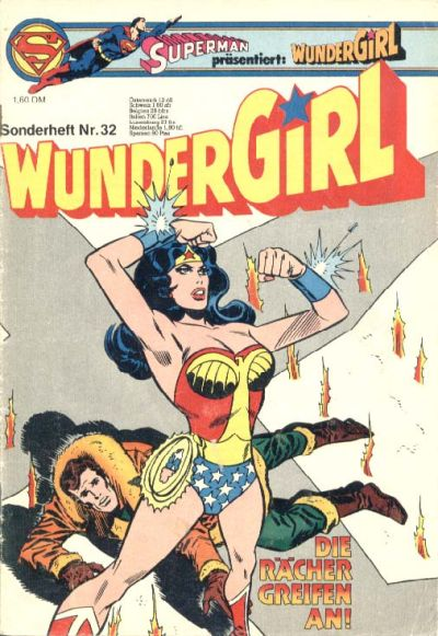 Cover for Wundergirl (Egmont Ehapa, 1976 series) #32