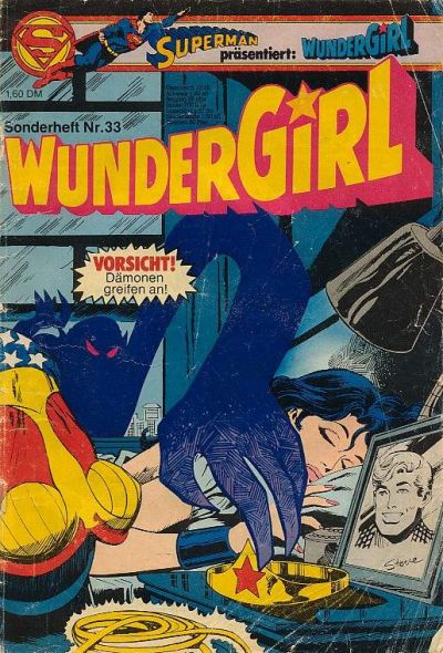Cover for Wundergirl (Egmont Ehapa, 1976 series) #33