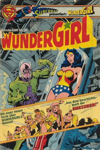 Cover for Wundergirl (Egmont Ehapa, 1976 series) #34