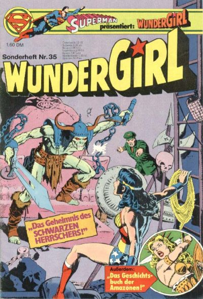 Cover for Wundergirl (Egmont Ehapa, 1976 series) #35