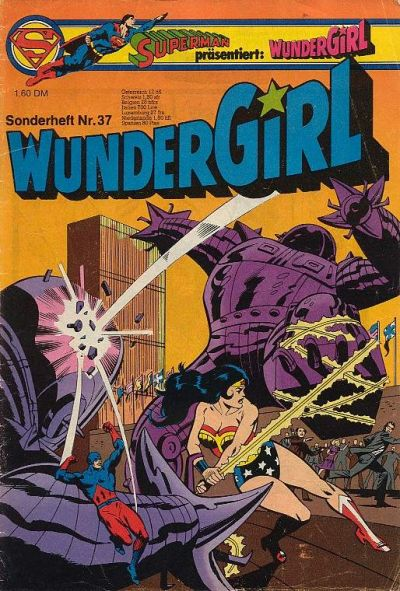 Cover for Wundergirl (Egmont Ehapa, 1976 series) #37