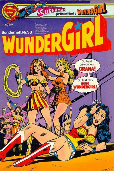 Cover for Wundergirl (Egmont Ehapa, 1976 series) #38