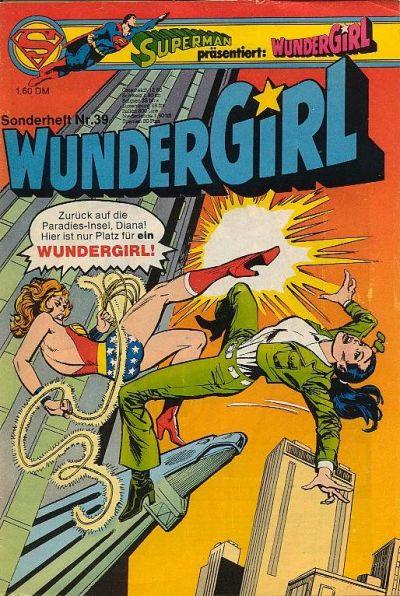 Cover for Wundergirl (Egmont Ehapa, 1976 series) #39