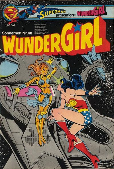 Cover for Wundergirl (Egmont Ehapa, 1976 series) #40