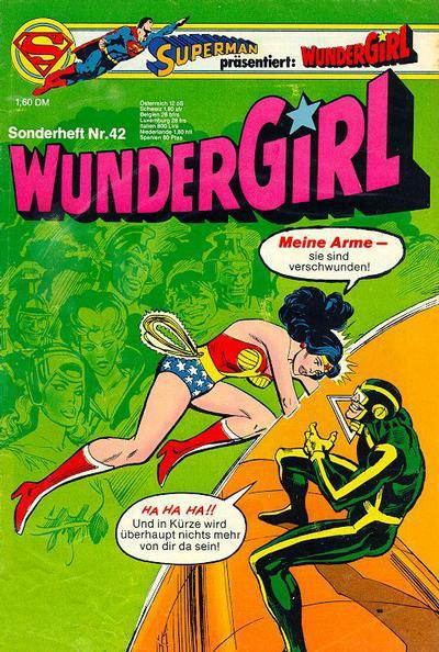 Cover for Wundergirl (Egmont Ehapa, 1976 series) #42