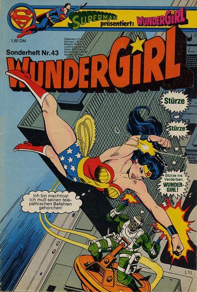 Cover for Wundergirl (Egmont Ehapa, 1976 series) #43