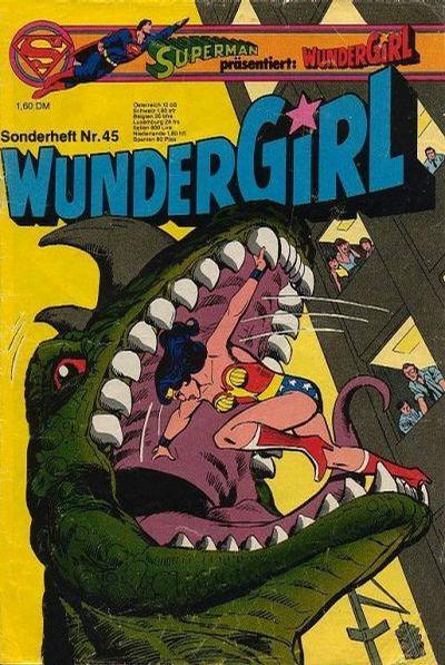 Cover for Wundergirl (Egmont Ehapa, 1976 series) #45