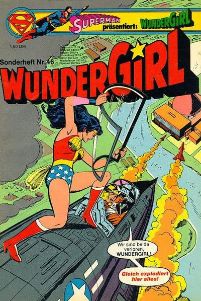 Cover for Wundergirl (Egmont Ehapa, 1976 series) #46