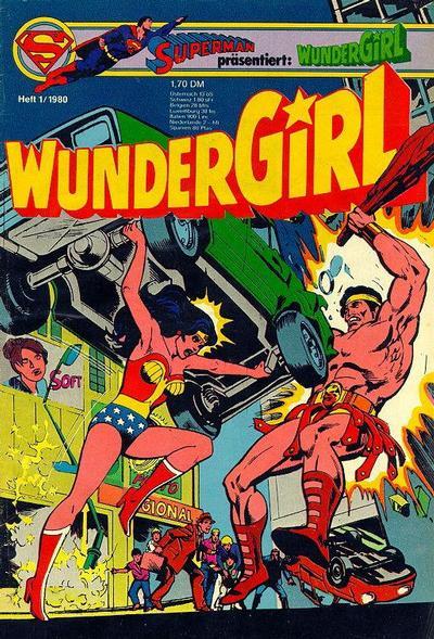 Cover for Wundergirl (Egmont Ehapa, 1976 series) #1/1980