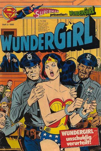 Cover for Wundergirl (Egmont Ehapa, 1976 series) #2/1980