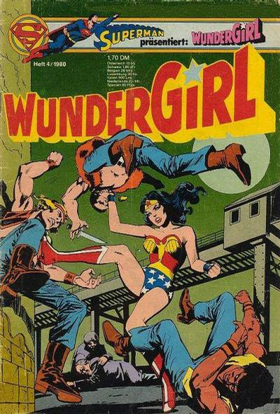 Cover for Wundergirl (Egmont Ehapa, 1976 series) #4/1980