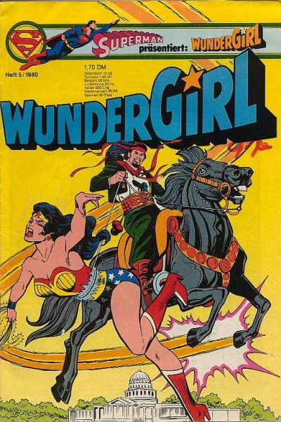 Cover for Wundergirl (Egmont Ehapa, 1976 series) #5/1980