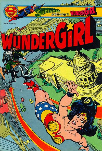 Cover for Wundergirl (Egmont Ehapa, 1976 series) #6/1980