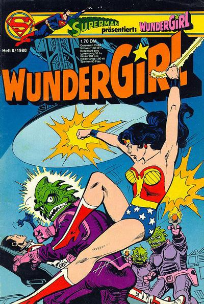 Cover for Wundergirl (Egmont Ehapa, 1976 series) #8/1980