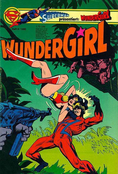 Cover for Wundergirl (Egmont Ehapa, 1976 series) #9/1980