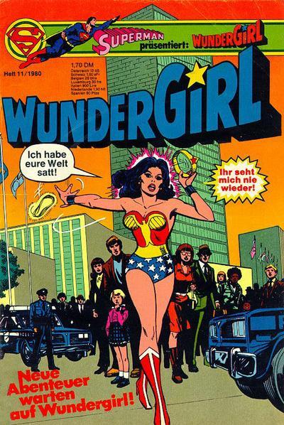 Cover for Wundergirl (Egmont Ehapa, 1976 series) #11/1980