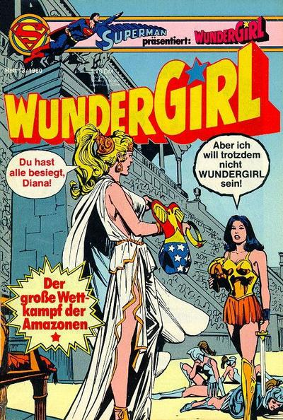 Cover for Wundergirl (Egmont Ehapa, 1976 series) #13/1980