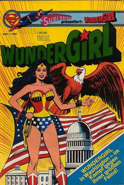 Cover for Wundergirl (Egmont Ehapa, 1976 series) #1/1981