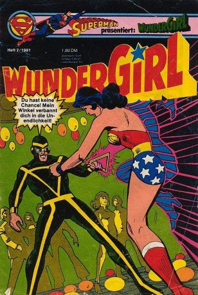 Cover for Wundergirl (Egmont Ehapa, 1976 series) #2/1981