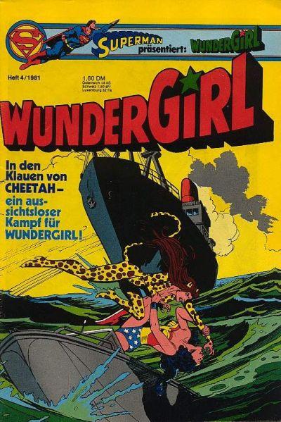 Cover for Wundergirl (Egmont Ehapa, 1976 series) #4/1981