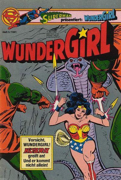 Cover for Wundergirl (Egmont Ehapa, 1976 series) #5/1981