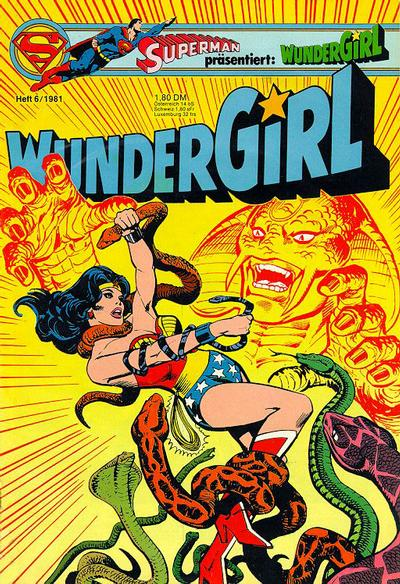 Cover for Wundergirl (Egmont Ehapa, 1976 series) #6/1981