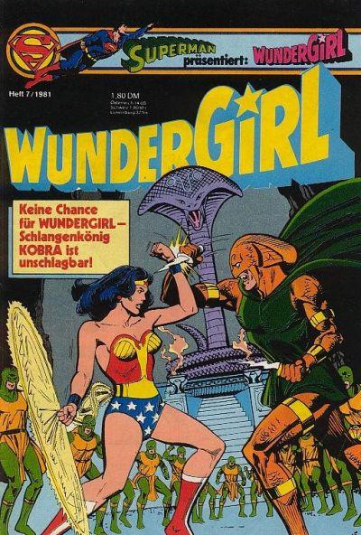 Cover for Wundergirl (Egmont Ehapa, 1976 series) #7/1981