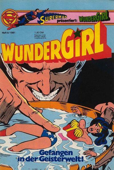 Cover for Wundergirl (Egmont Ehapa, 1976 series) #8/1981