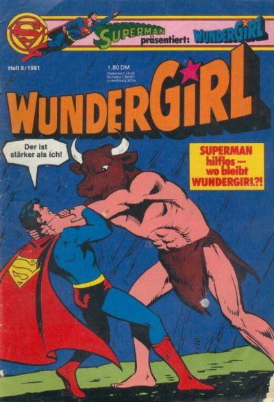 Cover for Wundergirl (Egmont Ehapa, 1976 series) #9/1981