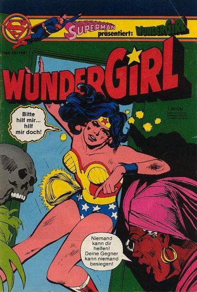 Cover for Wundergirl (Egmont Ehapa, 1976 series) #10/1981