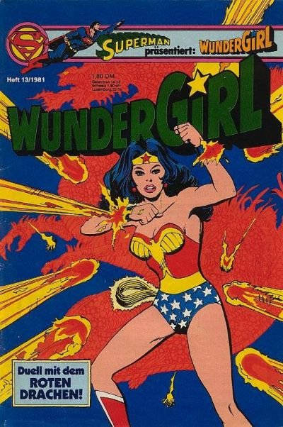 Cover for Wundergirl (Egmont Ehapa, 1976 series) #13/1981