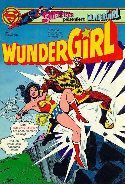 Cover for Wundergirl (Egmont Ehapa, 1976 series) #2/1982