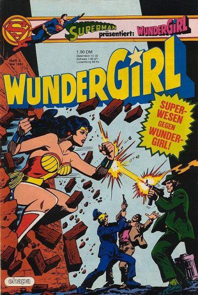 Cover for Wundergirl (Egmont Ehapa, 1976 series) #5/1982