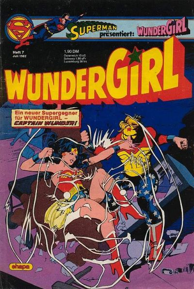 Cover for Wundergirl (Egmont Ehapa, 1976 series) #7/1982
