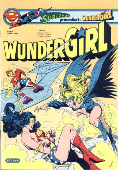 Cover for Wundergirl (Egmont Ehapa, 1976 series) #8/1982