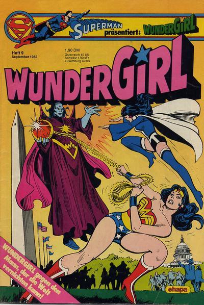 Cover for Wundergirl (Egmont Ehapa, 1976 series) #9/1982