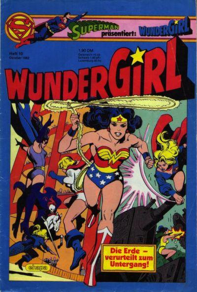 Cover for Wundergirl (Egmont Ehapa, 1976 series) #10/1982