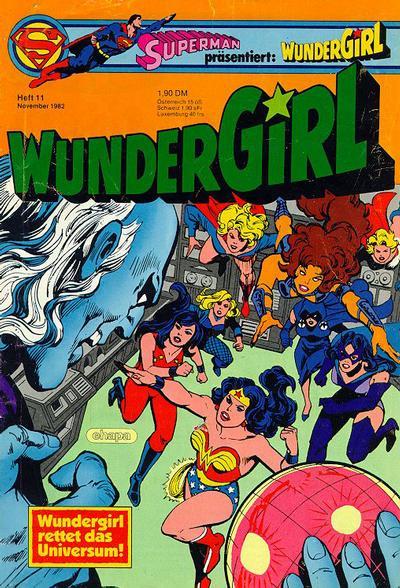 Cover for Wundergirl (Egmont Ehapa, 1976 series) #11/1982